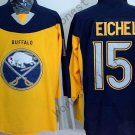 Buffalo Sabres 15 Jack Eichel Ice Hockey Yellow Jerseys