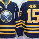 Buffalo Sabres 15 Jack Eichel Ice Hockey Navy Blue Jerseys Style 1
