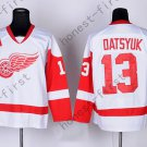 2016 Stadium Series Detroit Red Wings #13 Pavel Datsyuk White Hockey Jerseys
