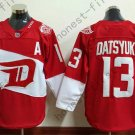 2016 Stadium Series Detroit Red Wings #13 Pavel Datsyuk Red Hockey Jerseys style 2