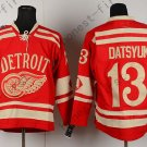 2016 Stadium Series Detroit Red Wings #13 Pavel Datsyuk Red Hockey Jerseys style 3