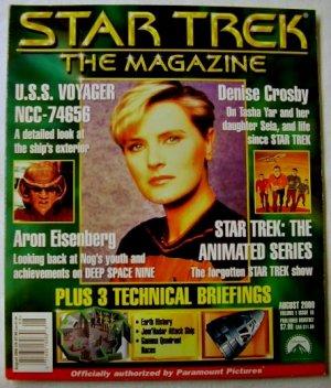 STAR TREK THE MAGAZINE - ISSUE 16 - AUGUST 2000 (US)