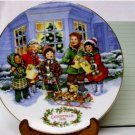 1991 AVON CHRISTMAS PLATE - PERFECT HARMONY, MIB