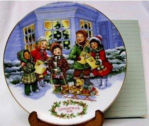 1991 AVON CHRISTMAS PLATE - PERFECT HARMONY, MIB