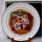 AVON CHRISTMAS MEMORY SERIES PLATE - 1983, MIB