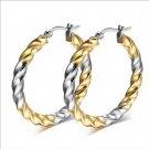 Stainless Steel High Quality Hoop Earrings For Women