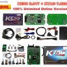 KESS 2 V5.017 + KTAG V7.020 V2.23 ECU Programmer No Tokens Limit DHL