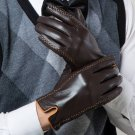 Winter Men's Genuine Leather Gloves New Touch Screen Gloves