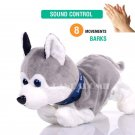 Electronic Pet Dog Puppy Interactive Sound Control Bark Soft Baby Toy Plush Doll