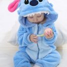 Cute Animals Newborn Baby Hooded Rompers Jumpsuit Warm Pajamas Tiger Bunny Panda