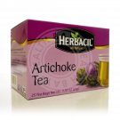 HERBACIL All Natural Artichoke Leaves Tea Te Hojas Alcachofa 25 Bags