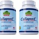 Collagen C , Hydrolysate With Vitamin C / 120 capsules (2 packs,240 capsules)
