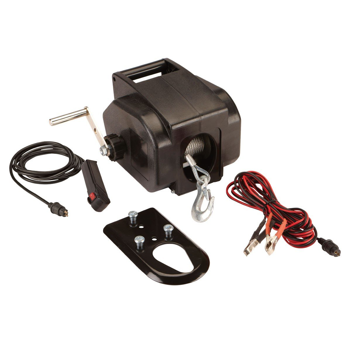 Badland Winch Mounting Systems: Universal ATV Winch 14ft Corded