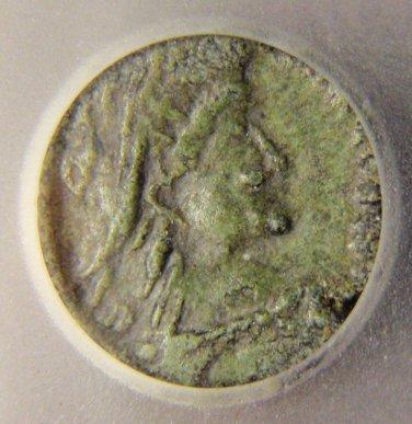 Rare Roman Barbarous Imitation .5th Century AD ICG VF30!
