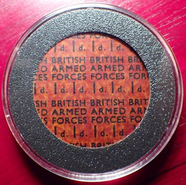 1946 ND British Armed Forces One Penny Token!