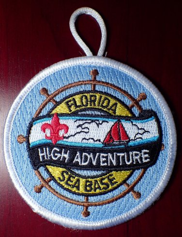 BSA National High Adventure Florida Sea Base Participation Loop Patch