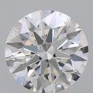 Natural round diamond 1.10 carat with GIA report.