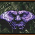 BUTTERFLY FACE Cross Stitch Pattern [PDF by email]