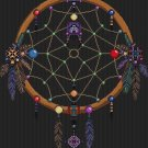 Cross Stitch Pattern- DREAMCATCHER - SINGLE RING * EMAIL delivery*