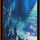 Cross Stitch Pattern- MAGICAL FOREST CHRISTMAS 1 (small)* EMAIL delivery*