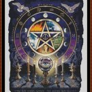 Cross Stitch Pattern- WITCH'S  PENTAGRAM * EMAIL delivery*