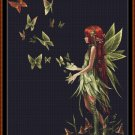 Cross Stitch Pattern- BUTTERFLY RELEASE * EMAIL delivery*