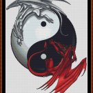 Cross Stitch Pattern- YANG & YIN * EMAIL delivery*