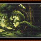 Cross Stitch Pattern-  FOREST DRAGON* EMAIL delivery*
