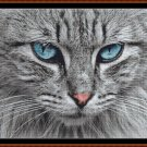 Cross Stitch Pattern- BLUE EYES * EMAIL delivery*