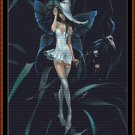 Cross Stitch Pattern- WITCH FAIRY * EMAIL delivery*