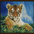 Tapestry Chart ( Pattern ) - TIGER CUB * EMAIL delivery*