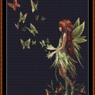 Cross Stitch Pattern- BUTTERFLY RELEASE (small) * EMAIL delivery*