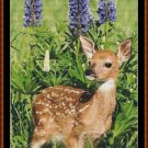Cross Stitch Pattern- BABY DEER * EMAIL delivery*