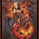 Cross Stitch Pattern- SAMHAIN FAIRY * EMAIL delivery*