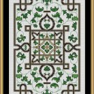 Cross Stitch Pattern- GOLDEN KNOT GARDEN * EMAIL delivery*