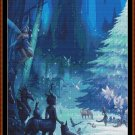 Cross Stitch Pattern- MAGICAL FOREST CHRISTMAS 1* EMAIL delivery*