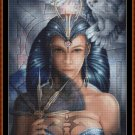 Cross Stitch Pattern- ANIMAL QUEEN * EMAIL delivery*