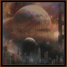 Cross Stitch Pattern- WHEN WORLDS COLLIDE * EMAIL delivery*