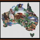 Cross Stitch Pattern- AUSTRALIA * EMAIL delivery*