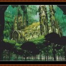 Cross Stitch Pattern- FOREST CASTLE (small)* EMAIL delivery*