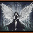 Cross Stitch Pattern- ANGEL 2 (small) * EMAIL delivery*