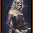 Cross Stitch Pattern- ANGEL OF DEATH * EMAIL delivery*