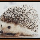 Cross Stitch Pattern-  BABY HEDGEHOG * EMAIL delivery*