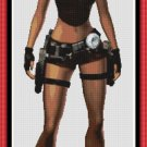 Cross Stitch Pattern- TOMB RAIDER * EMAIL delivery*