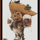 Cross Stitch Pattern- GOBLIN BEER * EMAIL delivery*