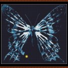 Cross Stitch Pattern- FRINGE 7 - BUTTERFLY (small) * EMAIL delivery*