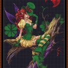 Cross Stitch Pattern- EMERALD FAIRY * EMAIL delivery*