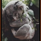 Cross Stitch Pattern- SLEEPY KOALA * EMAIL delivery*