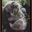 Cross Stitch Pattern- SLEEPY KOALA (small) * EMAIL delivery*