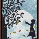 AUTUMN MOON Cross Stitch Pattern [PDF by email]{ fantasy}
